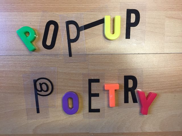 30-1 & 3-2 Pop-up poetry